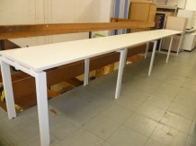 Second Hand 4 Person Linear Bench Desk